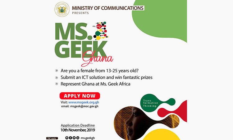 Ms. Geek Ghana Competition launched in Accra