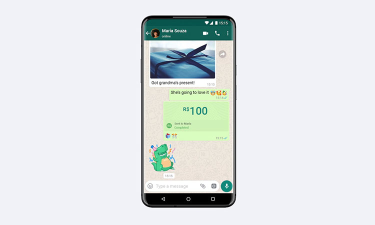 WhatsApp finally launches payments, starting in Brazil